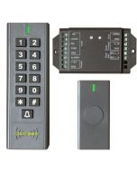 BS-SK7 Wireless Keypad & Wireless Exit Button & Card Reader Access Control System, IP66