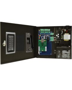BS-001S SINGLE DOOR TCP/IP ACCESS CONTROL+POWER SUPPLY+12V BATTERY+ READER+ELECTRIC STRIKE