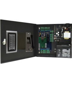 BS-002S 2-DOORS TCP/IP ACCESS CONTROL+POWER SUPPLY+12V BATTERY+2 READERS+2 x ELECTRIC STRIKES