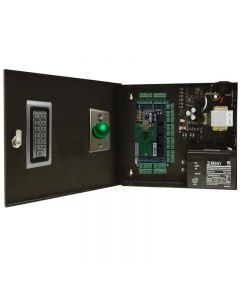 BS-004 4-DOORS TCP/IP ACCESS CONTROL+POWER SUPPLY+12V BATTERY+4 Readers+4 Exit Buttons
