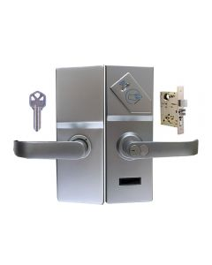 BS-75 RF Mortise With Deadbolt Weatherproof Hotel Card Lock
