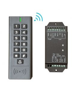 BS-SK7 Wireless Keypad & Card Reader Access Control System, IP66 + Wireless Exit Button