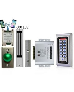 G1  Wifi Module Smart Phone APP Remote Controlled + SA-600 Standalone Access control + Power Adapter + Exit Button + 600 lbs Maglock