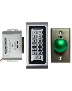 SA-600 Standalone Access System + Power Adapter Controller + Exit Button Kit