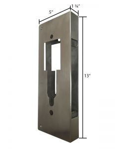 U Shape Door Wrap - Stainless Steel Material - U Door Cover