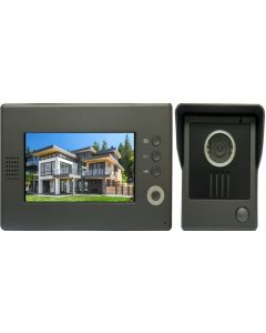 High Quality VDP-C37 Video Door Phone 7' Monitor with Weatherproof Outside Camera